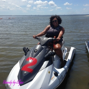 This was an awesome day I went jet skiing right on Tampa Bay