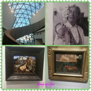Some of his works at the Museum (the stair case on the top right is beautiful in person)