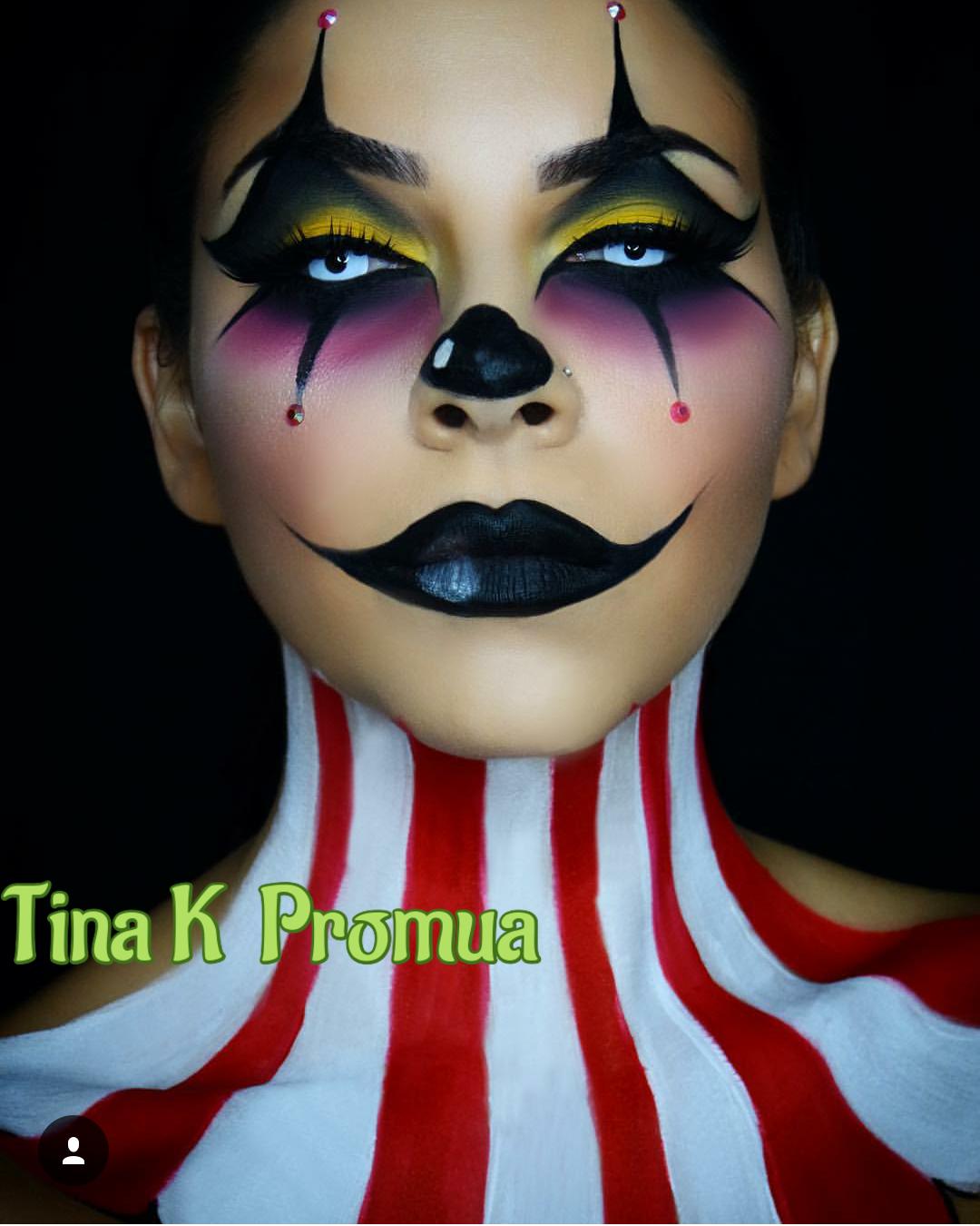 Halloween Clown Makeup – Beauty By Elyse