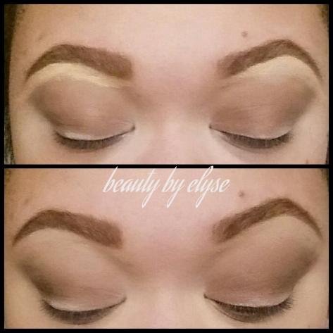 "L.A. Girl Cosmetics ""creamy beige"" NYX Eye brow pencil ""dark brown"""