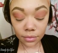 Peachy/pink transition shade
